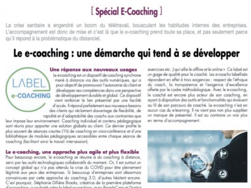 Focus sur le développement du e-coaching
