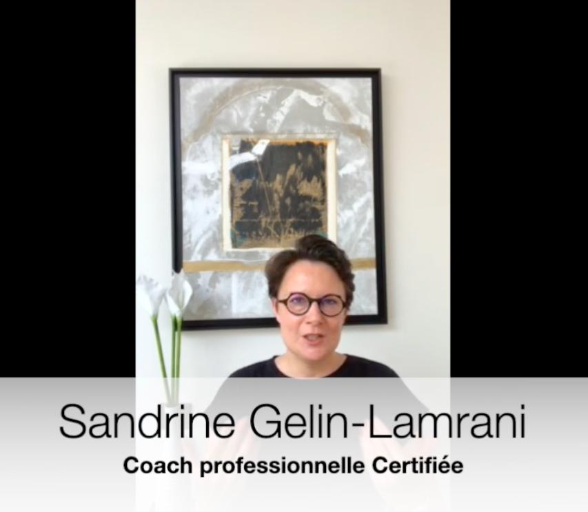 Sandrine Gelin-Lamrani, coach professionnelle certifiée