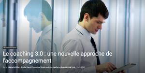 Read more about the article Le coaching 3.0 une nouvelle approche de l'accompagnement