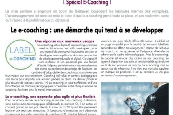 développement du e-coaching