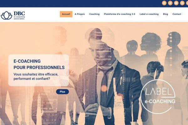 Home page nouveau site mon e-coaching